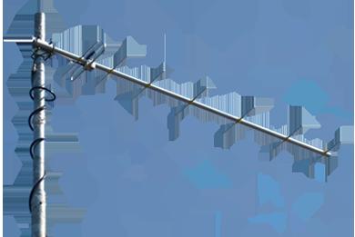 430-440 MHz  HAM directional antenna Y8-70cm : Radial :